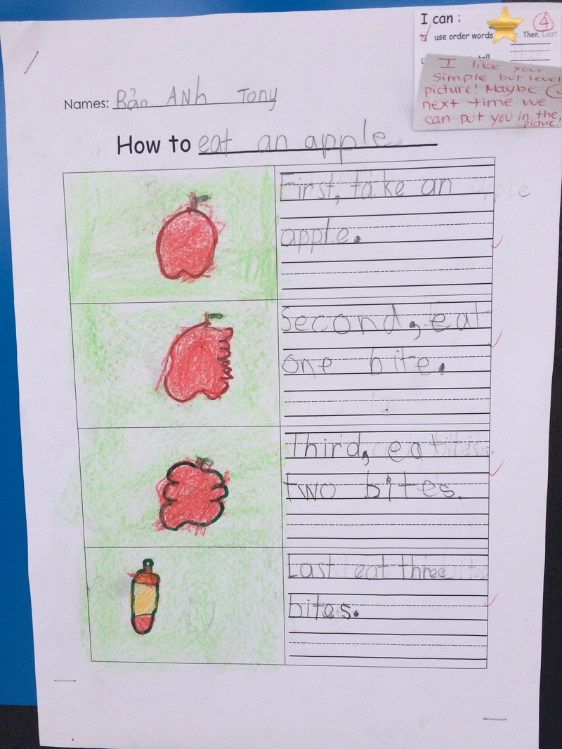 Loo k at our ho w to procedural writing Ms Karens 11 12 – Procedural Text Worksheets